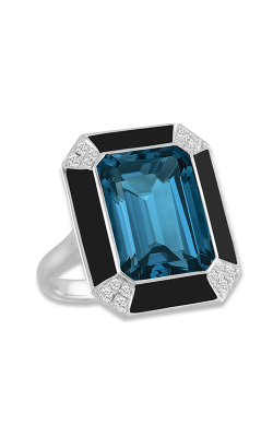 Doves by Doron Paloma London Blue Fashion ring R8897BOLBT product image