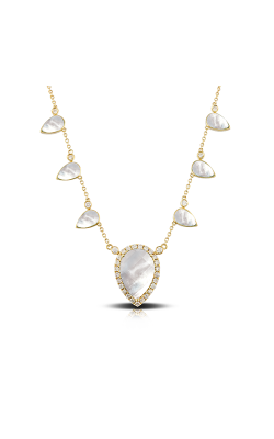 Doves by Doron Paloma White Orchid Necklace N8669WMP product image