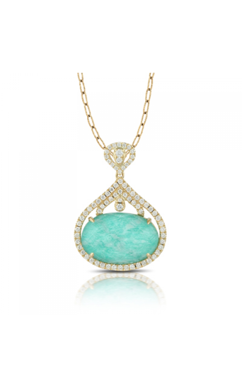 Doves by Doron Paloma Amazonite Necklace P6300AZ product image