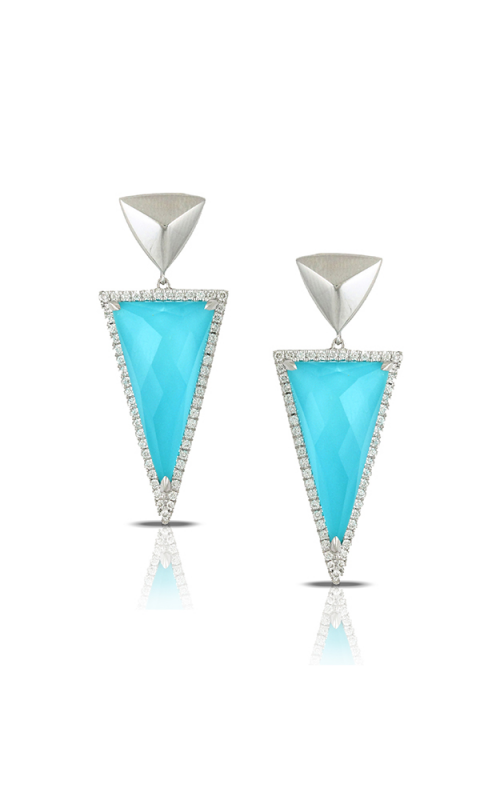 Doves by Doron Paloma St. Barths Blue Earring E7438TQ product image