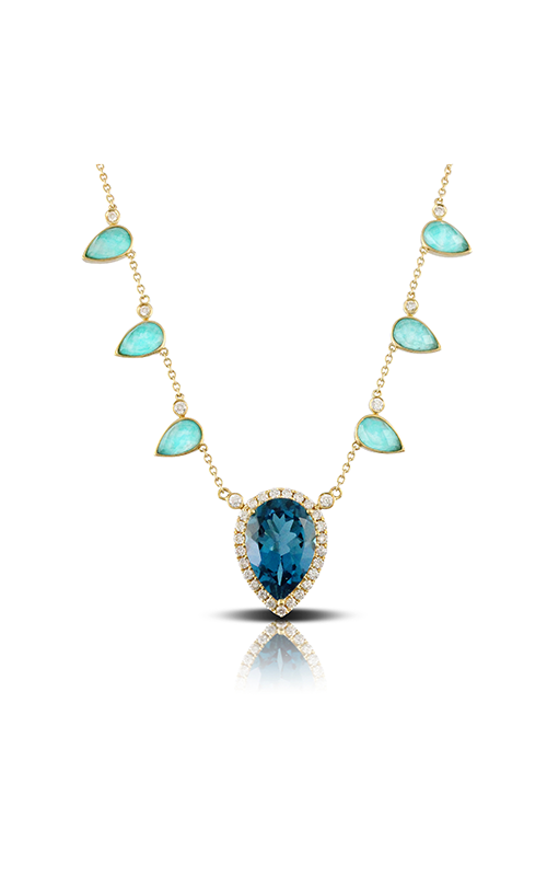 Doves by Doron Paloma Amazon Breeze Necklace N8669AZLBT product image