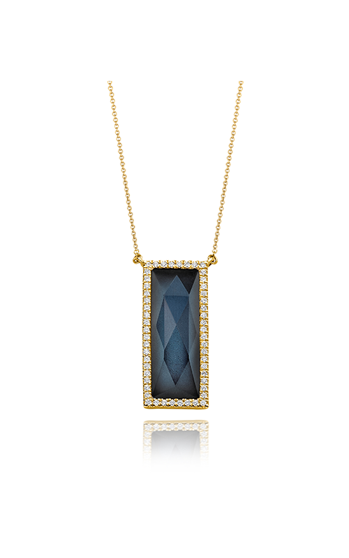 Doves by Doron Paloma Midnight Ocean Necklace N7055BTHM product image