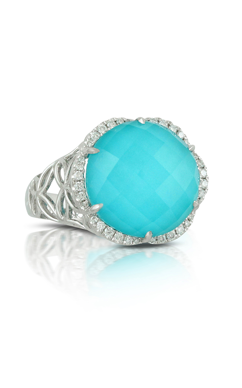 Doves by Doron Paloma St. Barths Blue Fashion ring R7038TQ product image