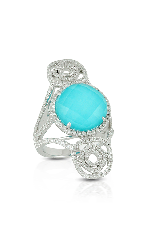 Doves by Doron Paloma St. Barths Blue Fashion ring R7176TQ product image