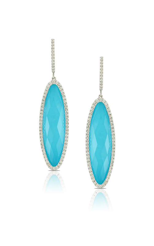 Doves by Doron Paloma St. Barths Blue Earring E5710TQ product image