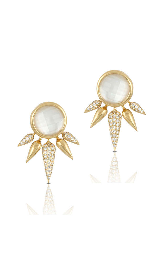 Doves by Doron Paloma White Orchid Earrings E7566WMP product image