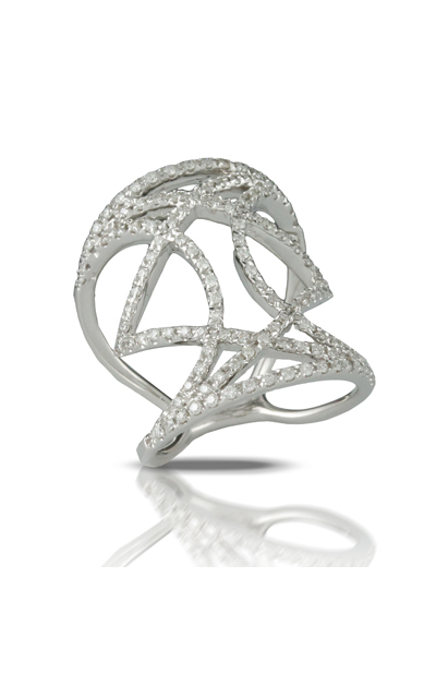Doves by Doron Diamond Fashion R6749-1 product image
