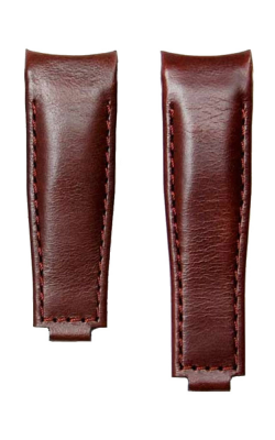 Everest Curved End Leather Strap For Deployant 4 Links X 4 Links - Brown EH9BRN44 product image