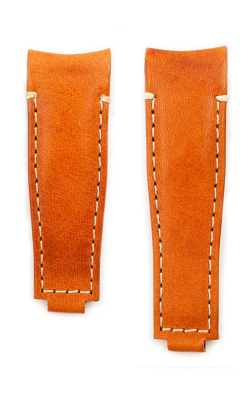 Everest Curved End Leather Strap For Deployant 4 Links X 4 Links - Tan EH9TAN44 product image