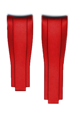 Everest Curved End Rubber For Deployant 4 Links X 4 Links - EH7RED44 product image