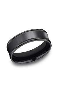 Forge Men's Wedding Bands RECF87500BKT06