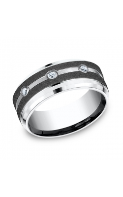 Forge Cobalt Comfort-Fit Diamond Wedding Ring CF995623CC06 product image