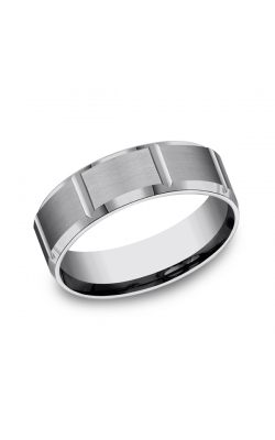 Forge Tungsten Comfort-Fit Design Wedding Band CF67449TG12 product image