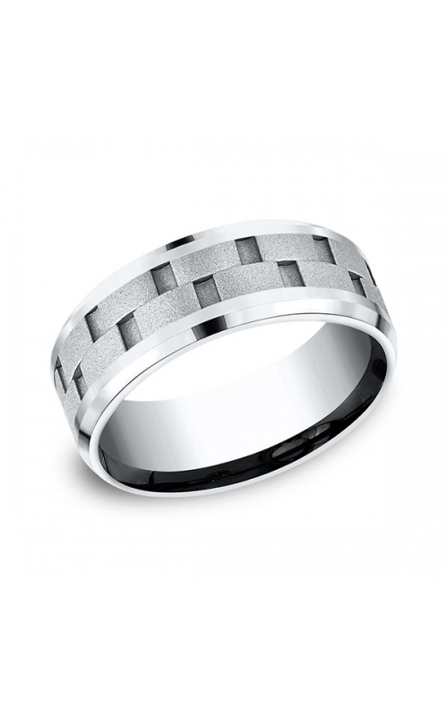 Forge Cobalt Comfort-Fit Design Wedding Band CF68943CC06.5 product image