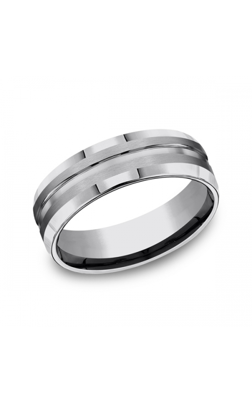 Forge Tungsten Comfort-Fit Design Wedding Band CF67439TG06 product image