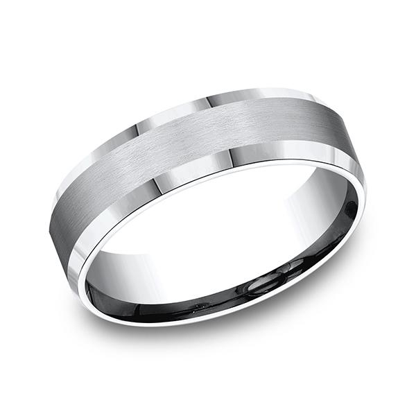 Forge Cobalt Comfort-Fit Design Wedding Band CF66416CC06 product image