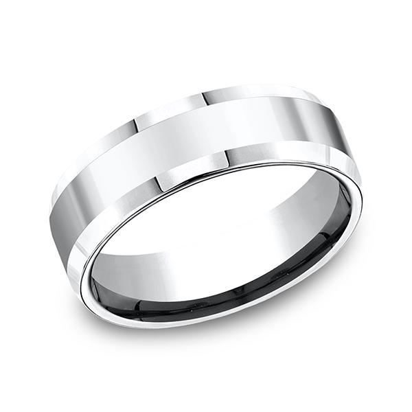Forge Cobalt Comfort-Fit Design Wedding Band CF67426CC06 product image