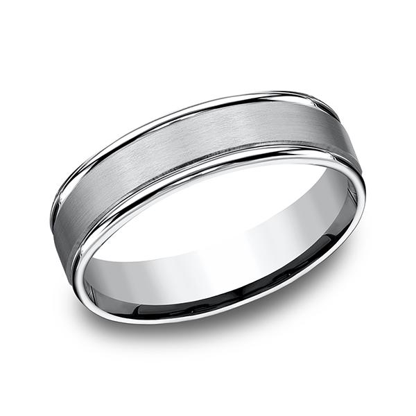 Forge Cobalt Comfort-Fit Design Wedding Band RECF7602SCC06 product image