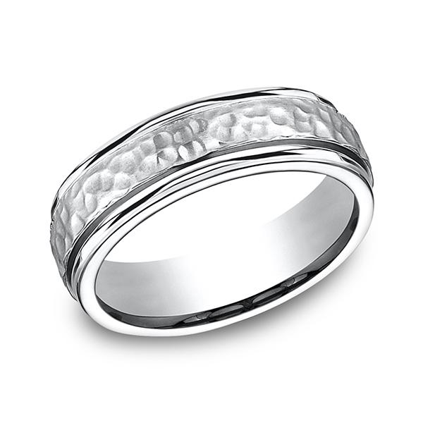 Forge Cobalt Comfort-Fit Design Wedding Band CF67502CC06 product image
