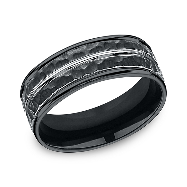 Forge Cobalt Comfort-Fit Design Wedding Band RECF58186CC06 product image