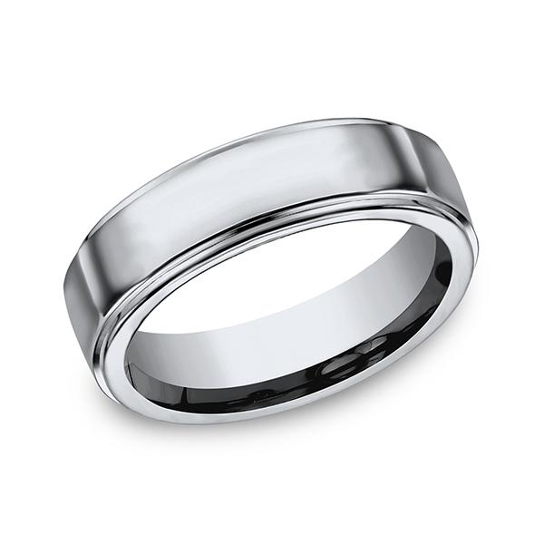 Forge Titanium Comfort-Fit Design Wedding Band 570T14 product image