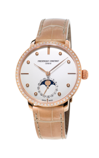 Frederique Constant  Slimline Moonphase FC-703VD3SD4