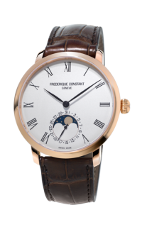 Frederique Constant  Slimline Moonphase FC-705WR4S4