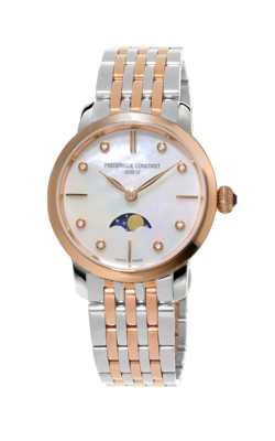Frederique Constant Slimline Moonphase Watch FC-206MPWD1S2B  product image