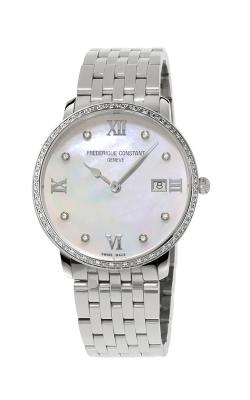 Frederique Constant Classics Slimline Ladies Grande Watch FC-220MPWD3SD6B product image