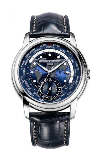 Frederique Constant Manufacture Worldtimer Watch FC-718NWM4H6 product image