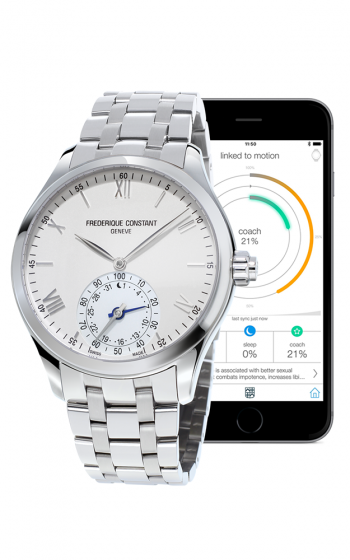 Frederique Constant Horological Smartwatch FC-285S5B6B product image