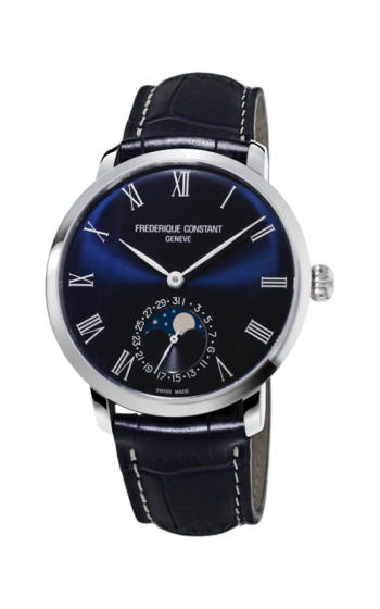 Frederique Constant Manufacture Slimline Moonphase Watch FC-705NR4S6 product image