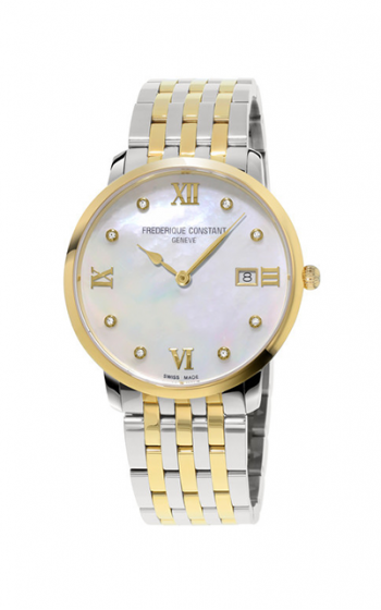 Frederique Constant Classics Slimline Ladies Grande Watch FC-220MPWD3S3B   product image