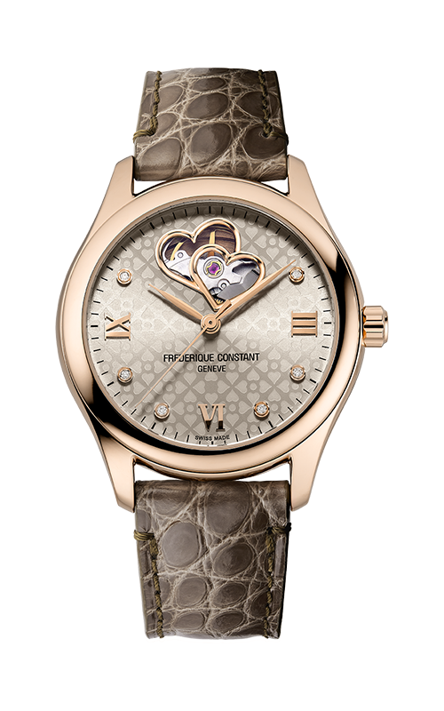 Frederique Constant  Double Heart Beat FC-310LGDHB3B4