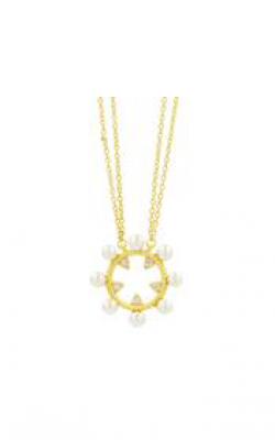 Freida Rothman Textured Pearl Necklace TPYZFPN04-16E product image