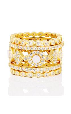 Freida Rothman FR Signature Fashion ring YZR090064B-MOP-8 product image