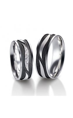 Furrer Jacot Carbon Rings Wedding Band 71-84320-0-0 product image