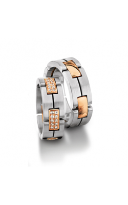 Furrer Jacot Multi-Coloured Wedding Band 62-53000-0-0 product image