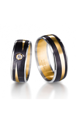 Furrer Jacot Carbon Rings Wedding band 71-29290-0-0 product image