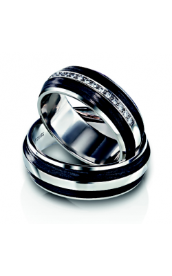 Furrer Jacot Carbon Rings Wedding band 71-32040-0-0 product image