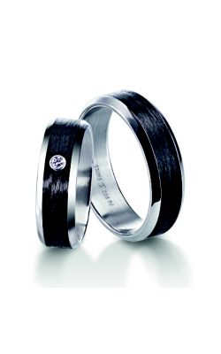 Furrer Jacot Carbon Rings Wedding band 71-84280-0-0 product image