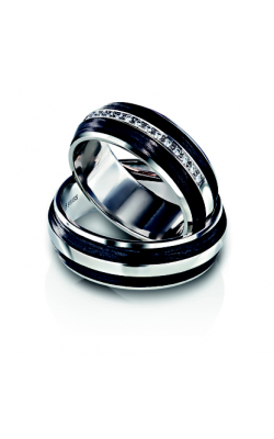 Furrer Jacot Carbon Rings Wedding band 61-53040-0-0 product image