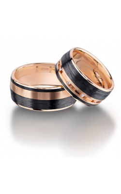 Furrer Jacot Carbon Rings Wedding band 71-84140-1-0 product image