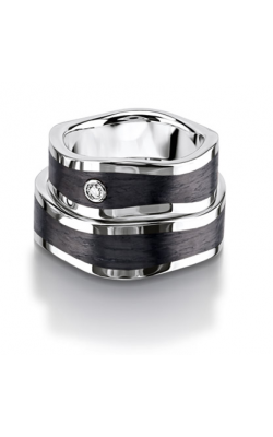 Furrer Jacot Carbon Rings Wedding band 71-29130-0-0 product image