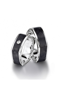 Furrer Jacot Carbon Rings Wedding band 71-84090-0-0 product image