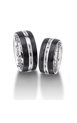 Furrer Jacot Carbon Rings Wedding band 71-84080-1-0 product image