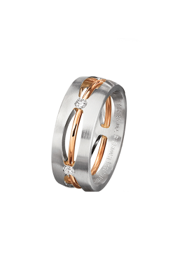 Furrer Jacot Multi-Coloured Wedding Band 71-83790 product image