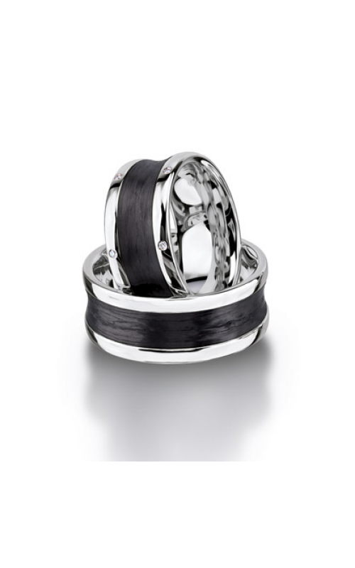 Furrer Jacot Carbon Rings Wedding band 71-29100-0-0 product image