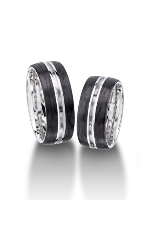 Furrer Jacot Carbon Rings Wedding band 71-29080-0-0 product image