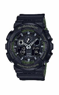 G-Shock Analog-Digital GA100L-1A